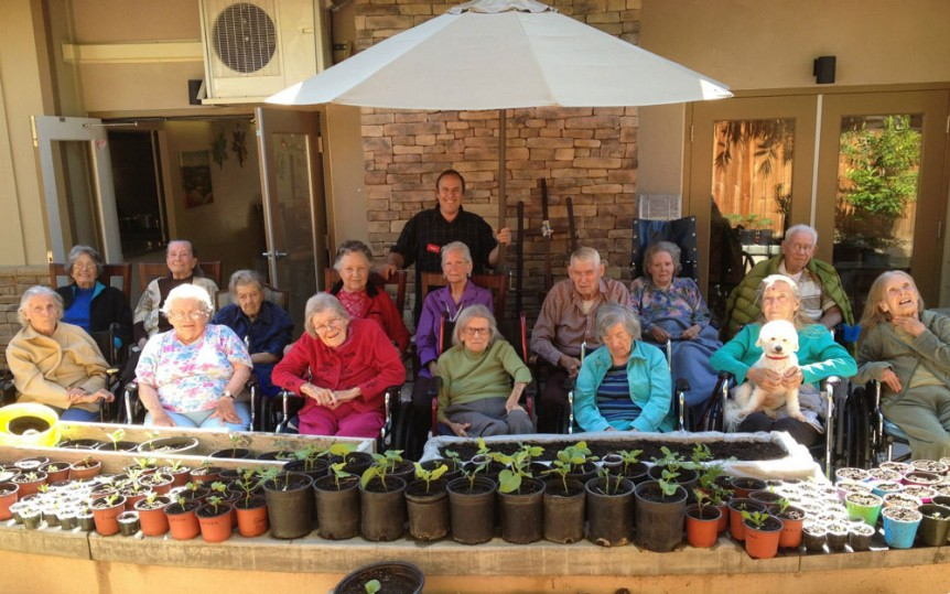 Visiting Family Members with Dementia